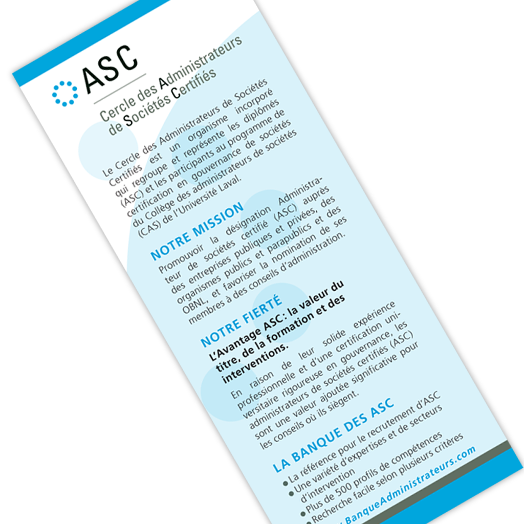 ASC encart
