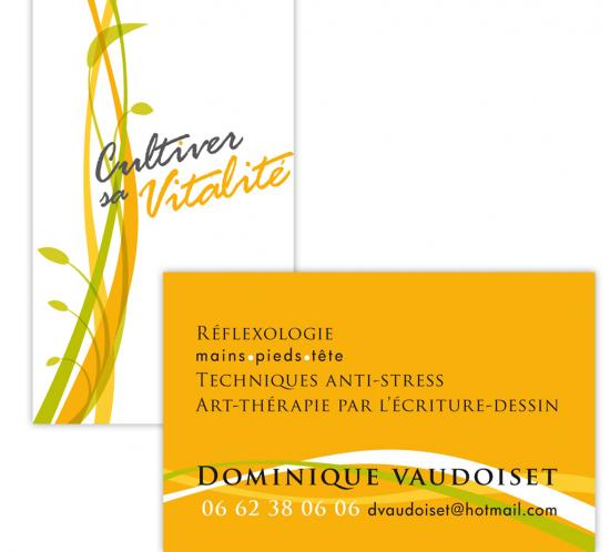 Dominique Vaudoiset carte professionnelle