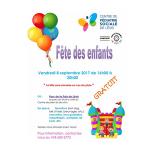 Fête des enfants Centre Pédiatrie Sociale Lévis